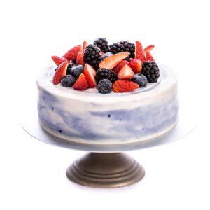 Crazy Berries Cake-Gluten free-Sugar free Low Carb-Keto-Diabetic