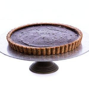 Cardamon-Chocolate-Tart-Paleo-Vegan-gluten free-eggless-dairy free-coconut sugar
