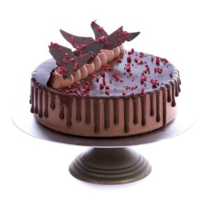 Chocolate Raspberry Cake-Gluten free-Keto-Sugar free Low Carb-