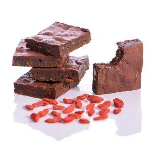 Goji Maca Fudge Brownies-Paleo-Gluten free-Dairy free