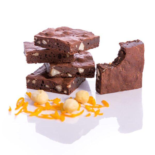 Fudge Brownies Macadamia Orange-Paleo-Gluten free-Dairy free