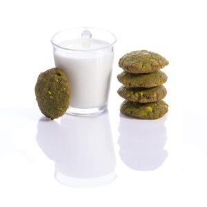 Matcha Pistachio Cookies-Gluten free-Vegan-Eggless-Diaryfree