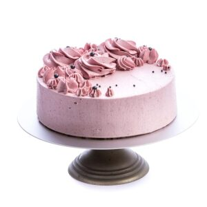 Strawberry Cream Cake-Gluten Free-Vegan-Eggless-Dairy free-Coconut sugar