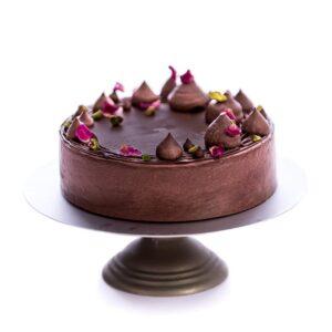 Vanilla Chocolate Cake-Gluten Free-Vegan-Egg Free-Dairy Free
